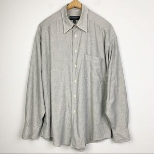 Yves Saint Laurent Button Down Shirt Large